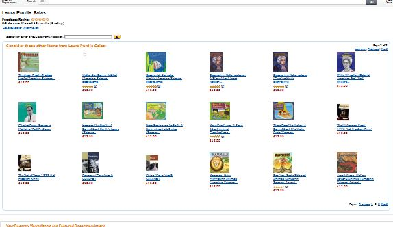 Amazon books for sale