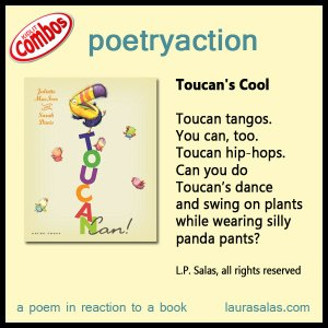 poetryaction and bookalikes for Toucan Can!