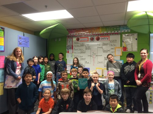 Mrs. Rider's awesome fifth-grade class!