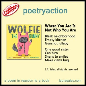 poetryaction and bookalikes for Wolfie the Bunny