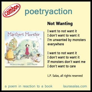 Poetryaction and Bookalikes for Marilyn's Monster