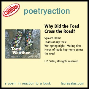 Poetryaction for Toad Weather