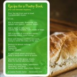 Recipe for a Poetry Book