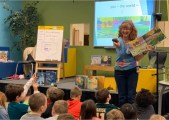 Laura at Rogers Elementary School