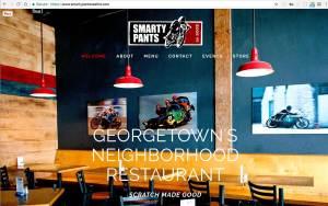 Screenshot of Smarty Pants Seattle Website