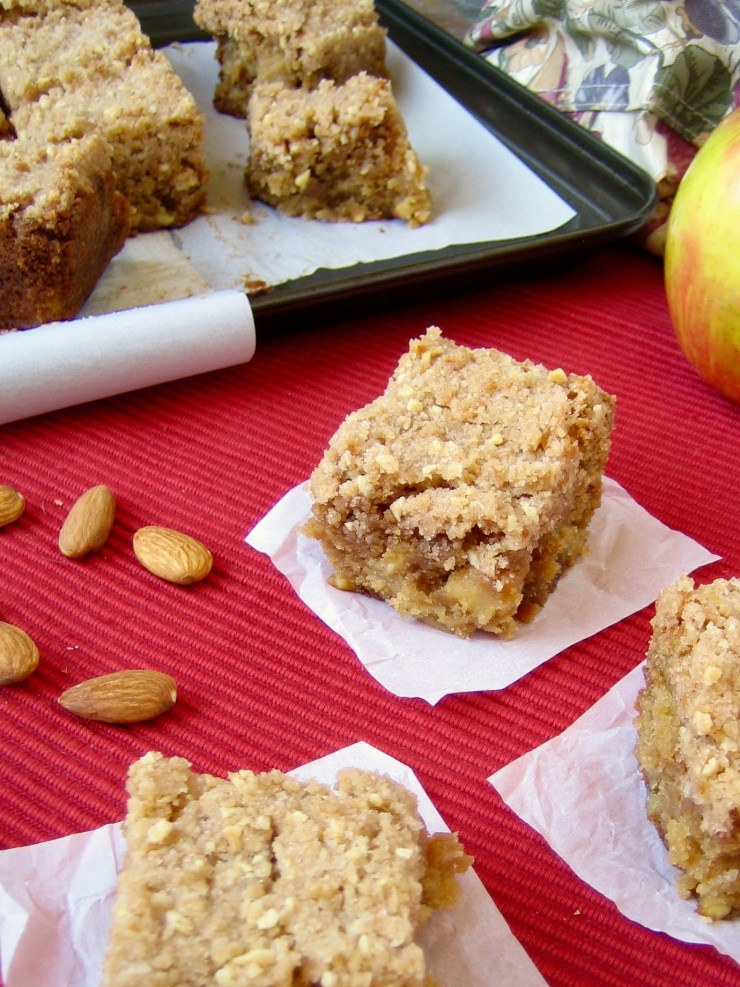 Snickerdoodle Apple Cake with Cinnamon Streusel