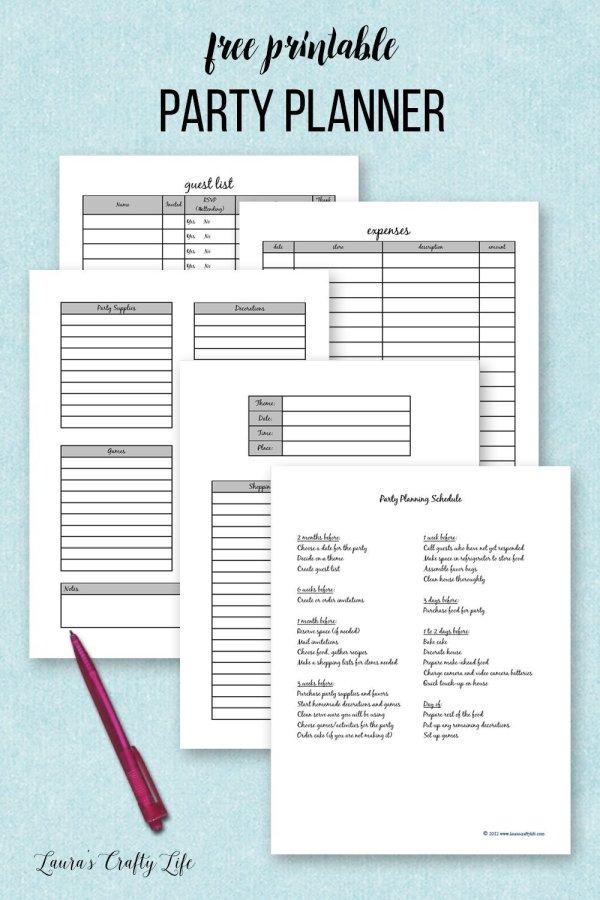 free printables planner # 15