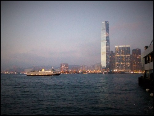 Tsim Sha Tsui at twilight