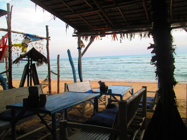 We spent two weeks on Ko Lanta, at the height of low tourist season. Probably the best (and worst) time to visit. No tourists but full of rubbish