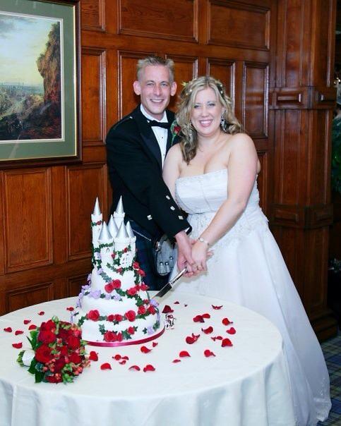 Wedding and cake