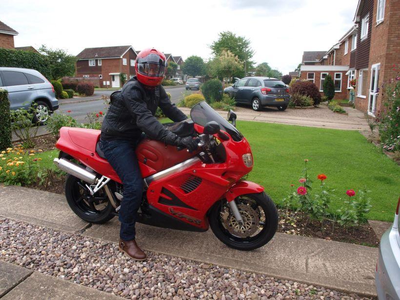 Ben new motorbike