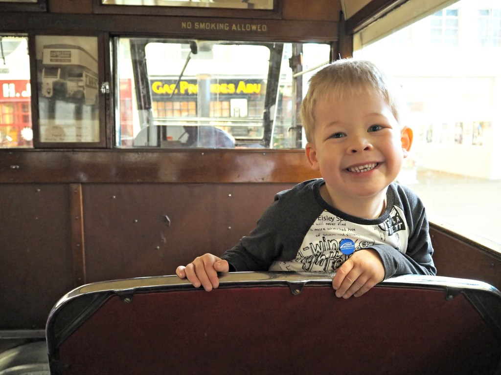 Milestones Museum Review on the bus 1