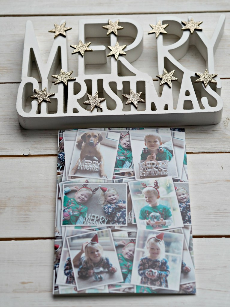 Bags of Love Personalised Christmas Cards - Merry Christmas