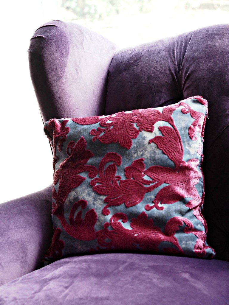 Our New Sofas & Front Room Mini Makeover with Sofology - armchair close up