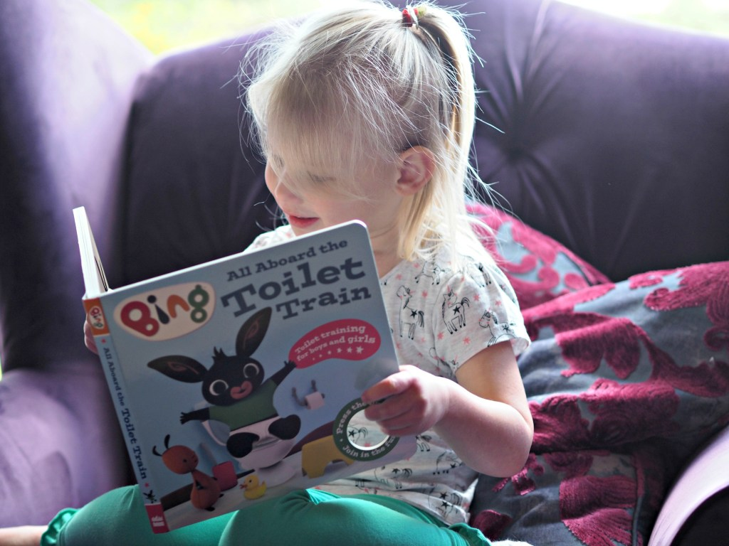CHILDREN'S BOOK REVIEW: All Aboard the Toilet Train!: A Noisy Bing Book