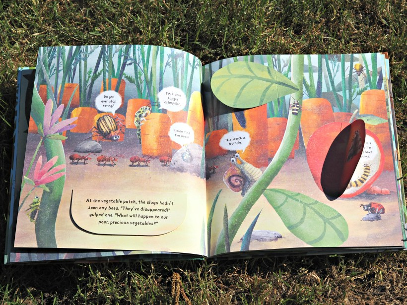 CHILDREN'S BOOK REVIEW When the Bees Buzzed Off - inside 1.