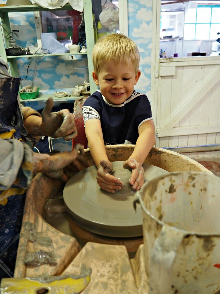 Our Welsh Holiday Highlights - Summer 2018 - Logan pottery