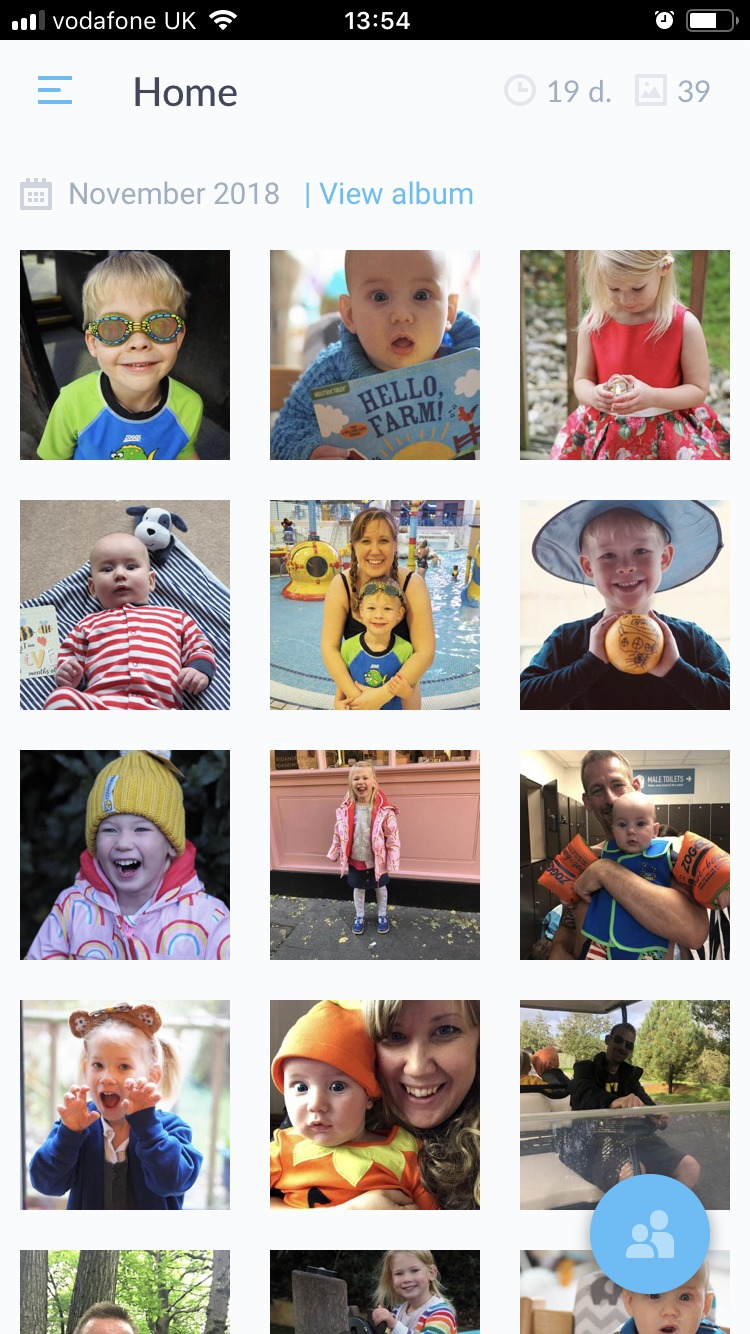 Keep in Touch with Grandparents with a Monthly Neveo Photo Journal - view album