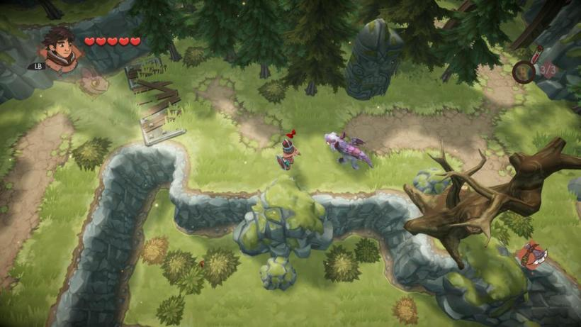 BEN'S ZONE: Dreamworks Dawn of the New Riders Xbox One Review - screen grab 4