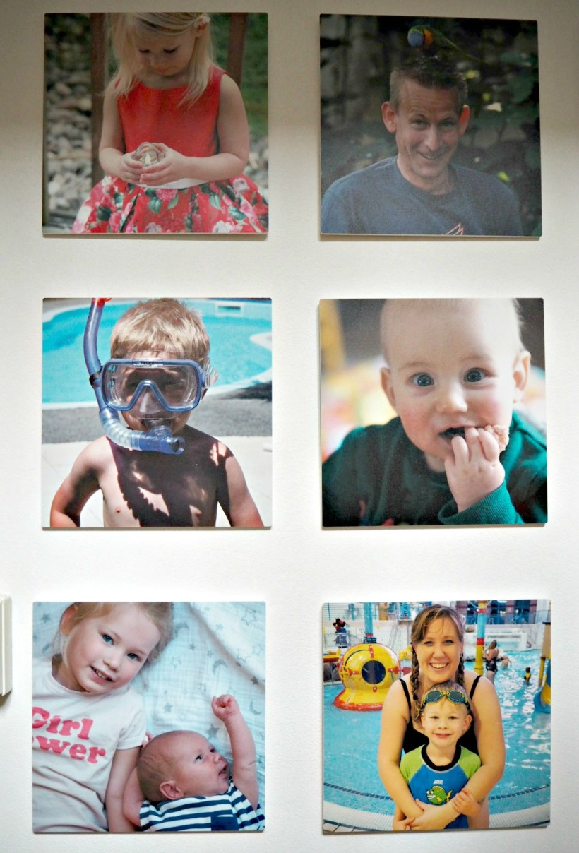 Creating a Photo Wall with MyPicture.co.uk - small close ups