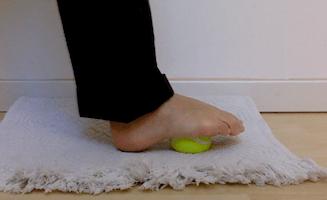 automassaggio del piede
