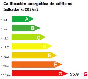 Certificación Energética: G
