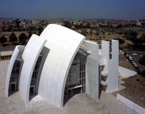 Iglesia del Jubileo en Roma (Richard Meier)