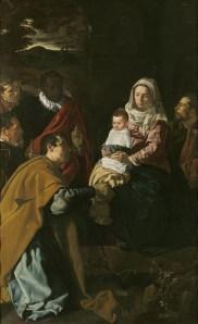 La Adoración de los Magos. Diego Velázquez, via Wikimedia Commons