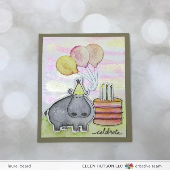 Hippo birthday card bookmarktalkfo Image collections