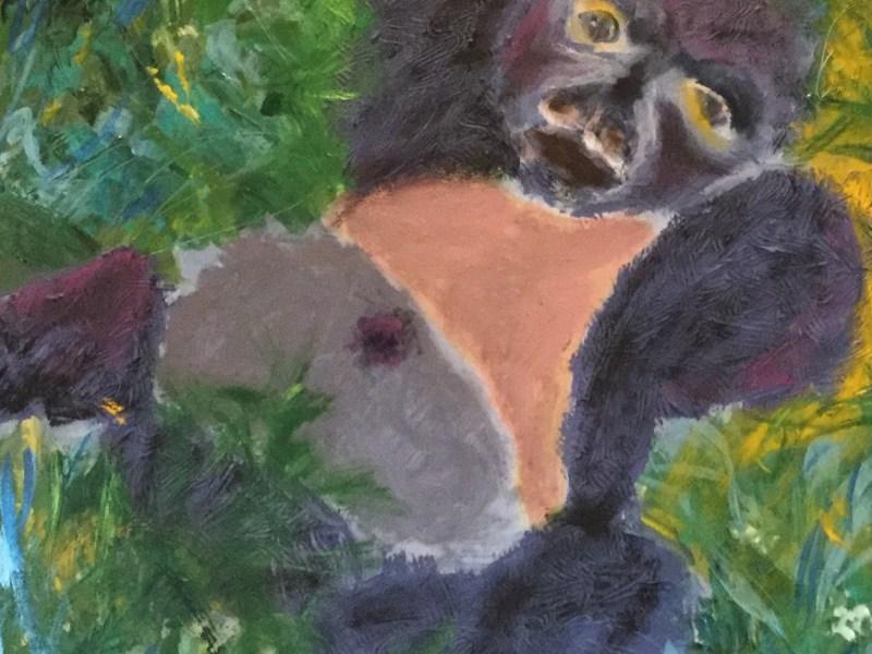 """Painting by Laurel Landers titled """"Innocence"""""""