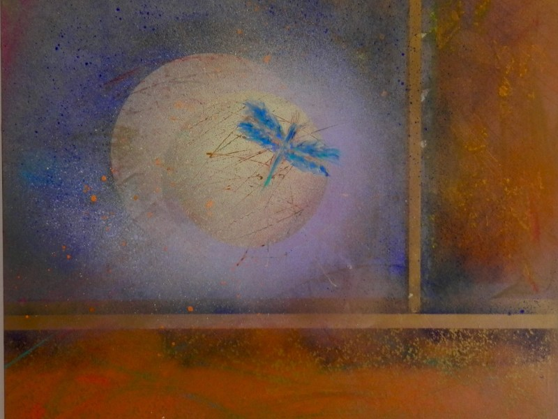 "Painting by Laurel Landers titled ""Memory"""