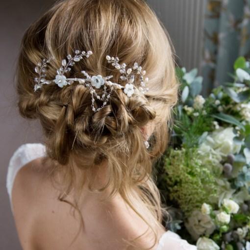 Gardenia Bridal Headdress