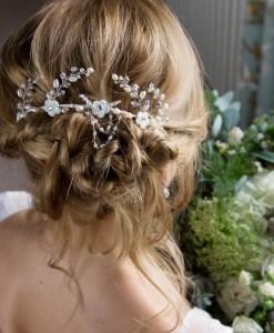 Gardenia Bridal Headdress 1