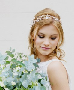 Honeysuckle Bridal Headpiece
