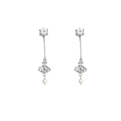 Garland bridal earrings