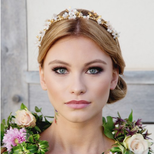 Dancing Bee Bridal Tiara
