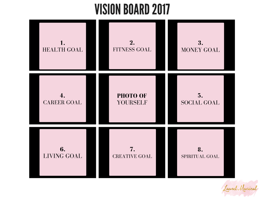 How To Make A Vision Board Free Printable
