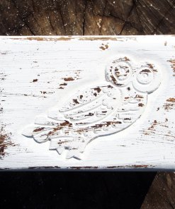 Owl Box Wooden Handmade Trinket Bird Wisdom Protection Animal Symbol Carved Jewelry Mango Antique Tree Chest Casket Wood Eco Friendly