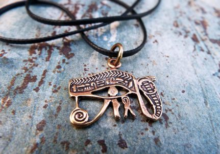 Eye of Horus Eye of Ra Pendant Third Eye Ancient Egyptian Symbol Magic Spiritual Protection