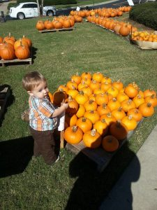 Pumpkin Sale at the Church