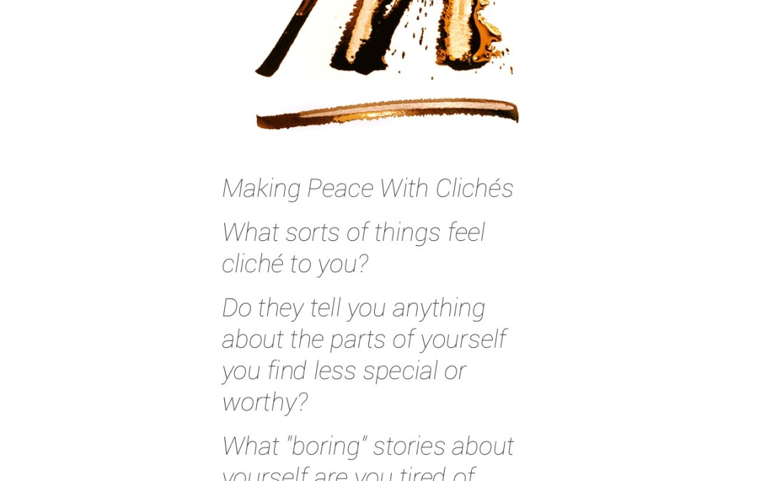 Making Peace with Clichés