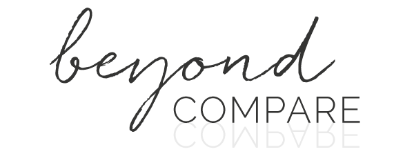 Moving Beyond Compare – and Learning to Take My Own Advice