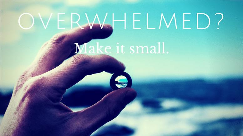 Make it small.