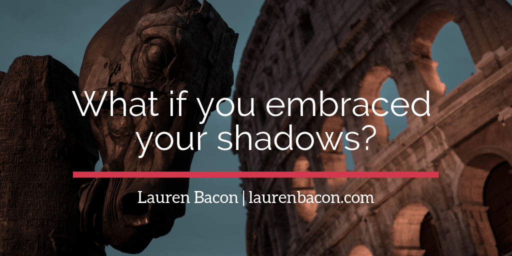 What if you embraced your shadows? A curiosity experiment.