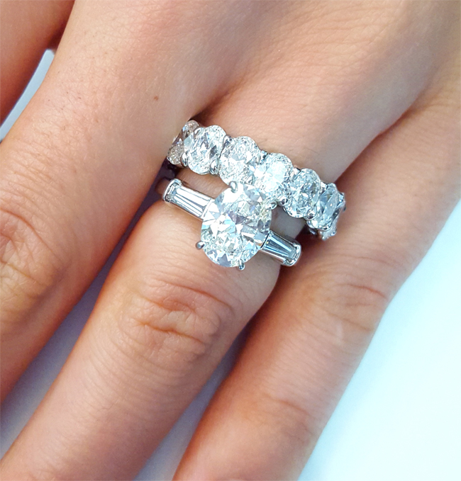 Oval Diamond Engagement Rings And Wedding Bands Unique