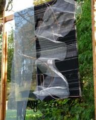 -Laurence Waldner-Sculpture murale d'art textile contemporain – Beauté du Monde N°7