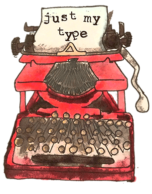 typewriter-red