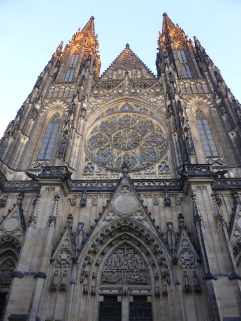 St. Vitus Cathedral Prague Czech Republic