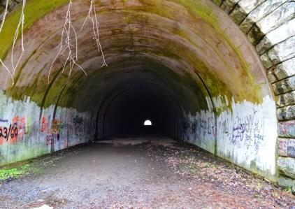 """The """"Road to Nowhere,"""" near Lake Fontana, NC"""