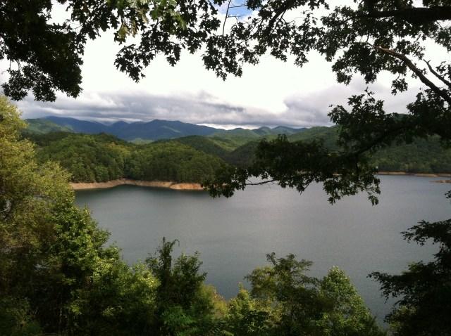 fontana lake, nc mountains, blue ridge